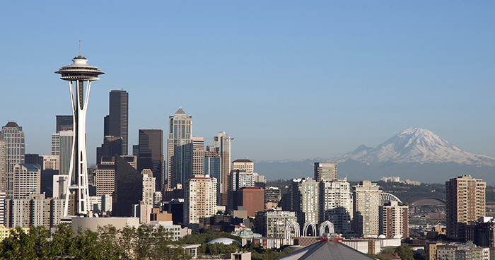 Seattle Skyline at Kerry Park © Terry Divyak