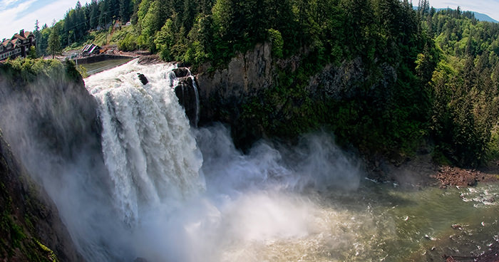 Snoqualmie Falls by Terry Divyak