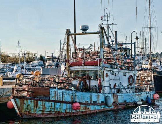 Old crabbing boat at Seattle's Fishermen's Terminal