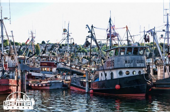 Boats at Fisherman's Terminal in Seattle