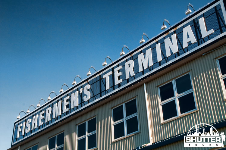 Fisherman's Terminal sign in Seattle