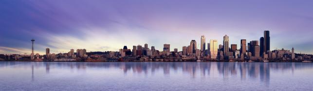 Seattle Skyline by Ben Goode
