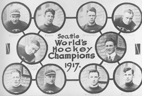 Seattle Metropolitans 1917