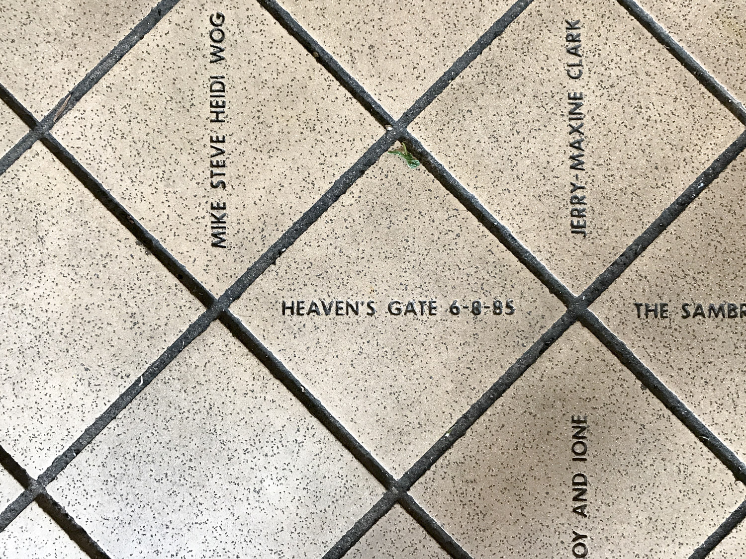 Heavens Gate Tile at Pike Place Market