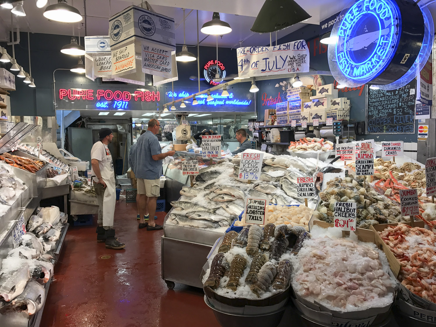 Pure Foods Fish at Pike Place Market