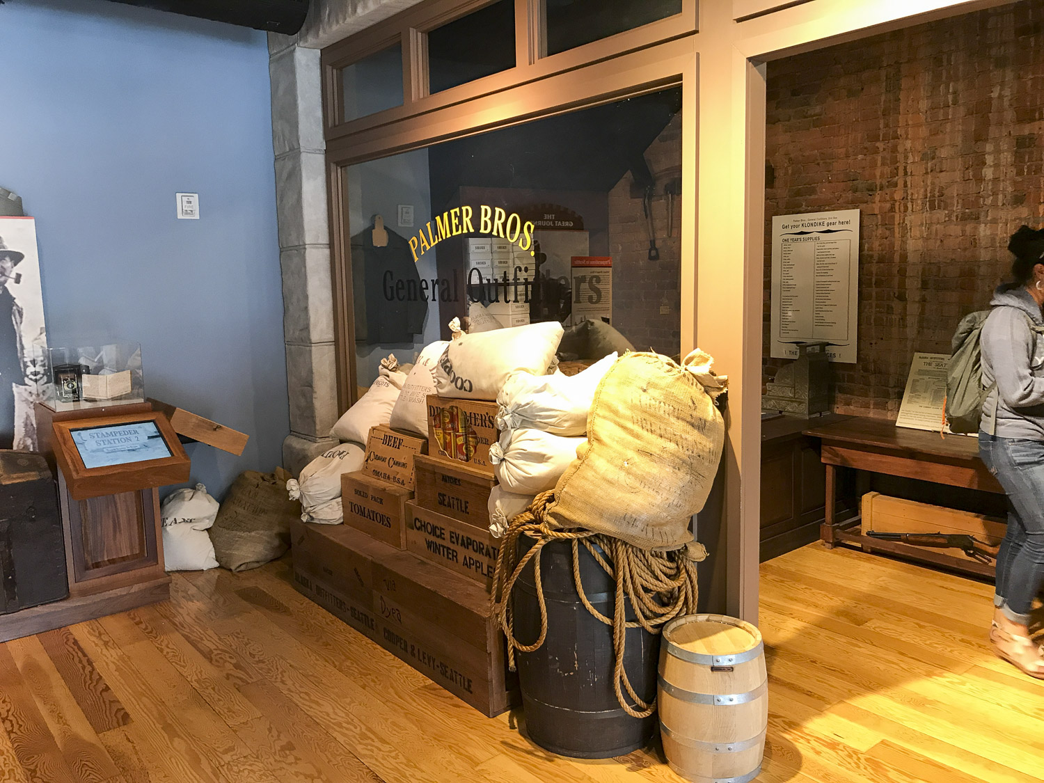 Klondike Gold Rush Museum in Seattle