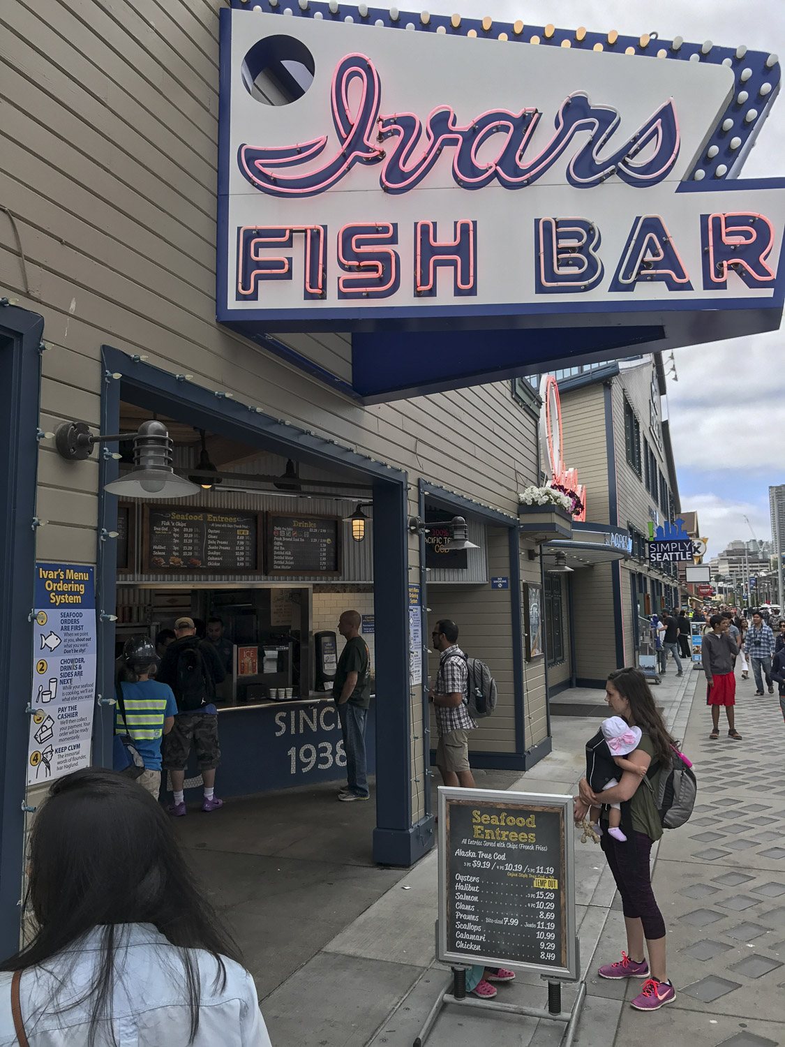 Ivars Fish Bar in Seattle