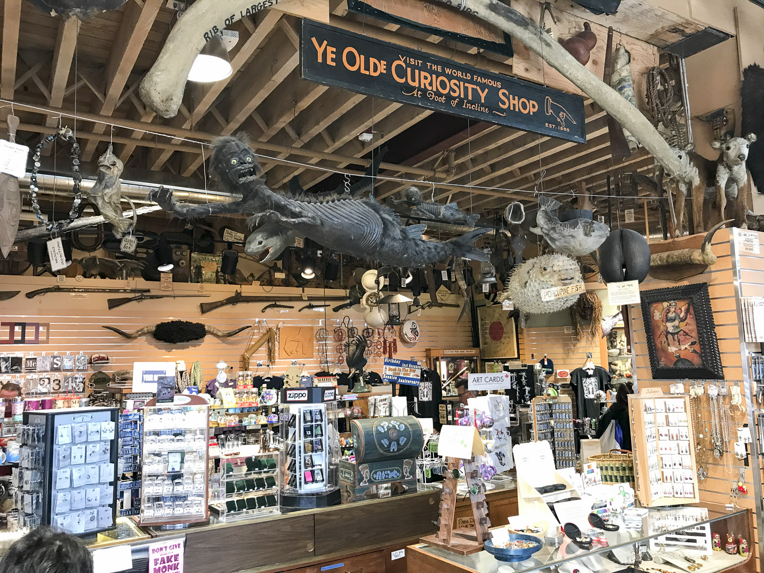 Ye Old Curiosity Shop in Seattle
