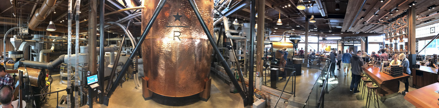 Starbucks Reserve Store in Seattle