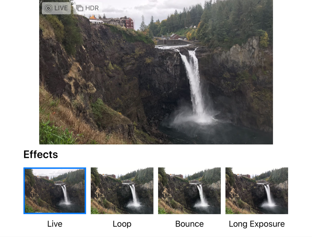 How to shoot waterfalls with an iPhone