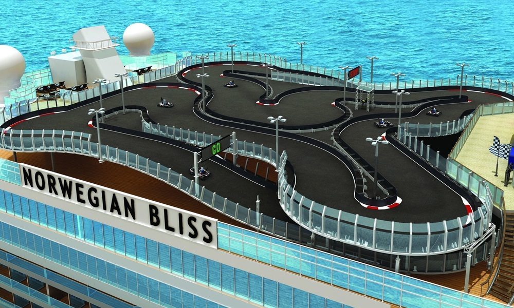 Norwegian Bliss Go Cart Track