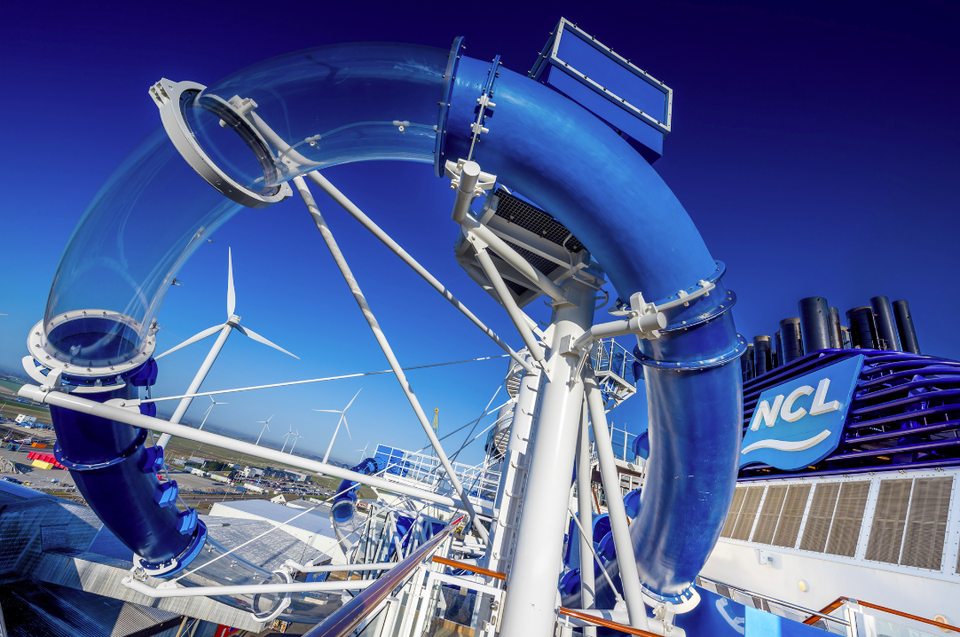 Norwegian Bliss Water Slides