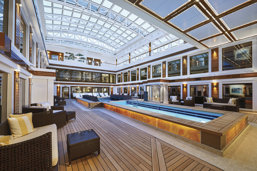 The Haven Courtyard on Norwegian Bliss