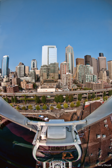 View From Great Seattle Wheel