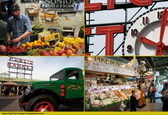 Pike Place Market by Terry Divyak via Shutter Tours