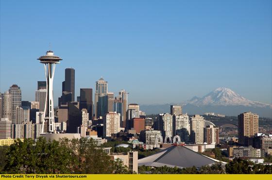 Kerry Park in Seattle by Terry Divyak via Shuttertours.com
