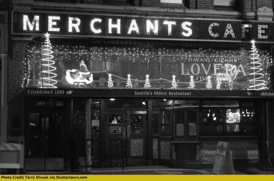 Seattle Merchant Cafe by Terry Divyak via Shutter Tours