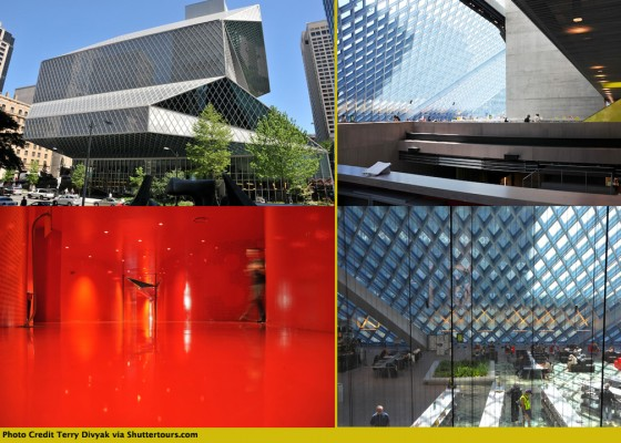 Seattle Public Library by Terry Divyak via Shuttertours.com